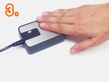 電磁波カットホットカーペット:警告音が鳴って赤いランプが点灯する場合は、スイッチを反対側に切り替えてください