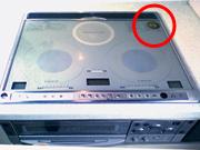 ihクッキングヒーターからの電磁波に-IHクッキングヒーターでの使用例
