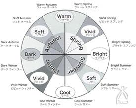12分類カラー分析