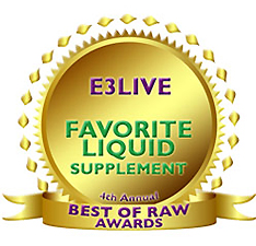 「E3Live オリジナル(液体)」Best Raw Awards Best LIQUID SUPPLEMENT受賞