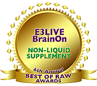 「BrainON パウダー」Best NON-LIQUID SUPPLEMENT受賞