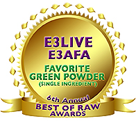 「E3Liveパウダー」Best GREEN POWDERUID SUPPLEMENT受賞