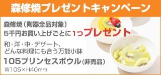 森修焼キャンペーン