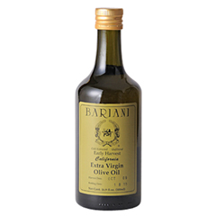 最高級品質を誇る「バリアーニオリーブオイル」
