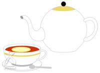 ビオネ:紅茶に