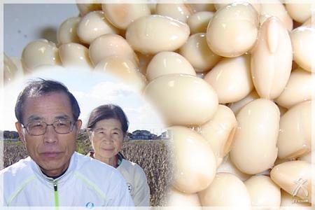 農薬不使用大豆