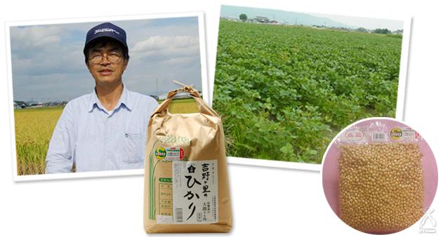 大隈さんの大豆
