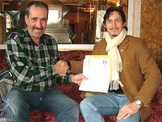 2007年4月ギャニオン社長 ノコミス社へ訪問。