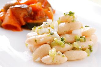 インカインチ・バージンオイル:白インゲン豆のマリネ