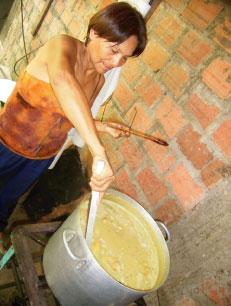 インカインチ・バージンオイル:豆スープ