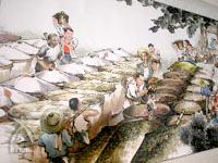 恒順香醋:昔の香醋の作成風景