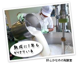 肝心かなめの発酵室