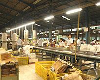 石井氏が興したダイマツグループの工場