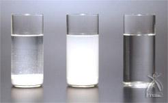 水溶性の比較実験