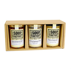 Smallest Soup Factory スープギフト3本セット 400ml(希釈後 約3-4人前)×3本