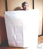 麻和紙シーツ画像