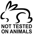 Not Animal Tested�j