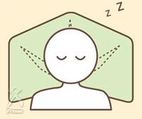 知恵ピロー・楽枕万能:両肩を抱くような心地よい安定感