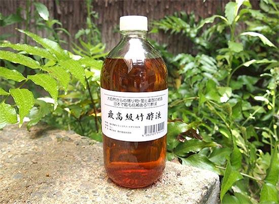 京都大学木質科学研究所の蒸留竹酢液