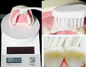 従来の歯ブラシ