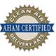 AHAM(米国家庭電化製品製造協会)認定