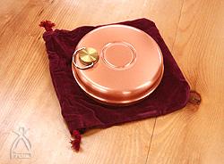 ミニ丸タイプ 純銅製 ゆたんぽ