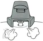フィスラー圧力鍋:圧力を抜いてから