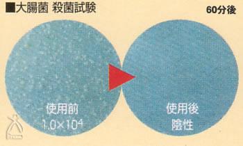 JSKフリオン:大腸菌 殺菌試験
