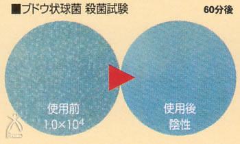 JSKフリオン:ブドウ球菌 殺菌試験