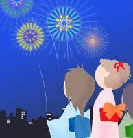 花火大会やお祭りに