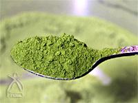 ひきっ粉:お茶の葉も粉末に