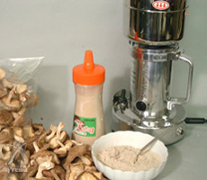 ひきっ粉:干し椎茸粉の使い方