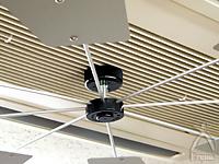 ハイブリッドファン:空調機を運転し、様子を見て羽根の角度を微調整してください