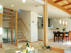 外断熱自然素材の家