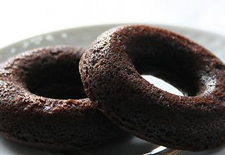 ふかふか焼きドーナッツ チョコ
