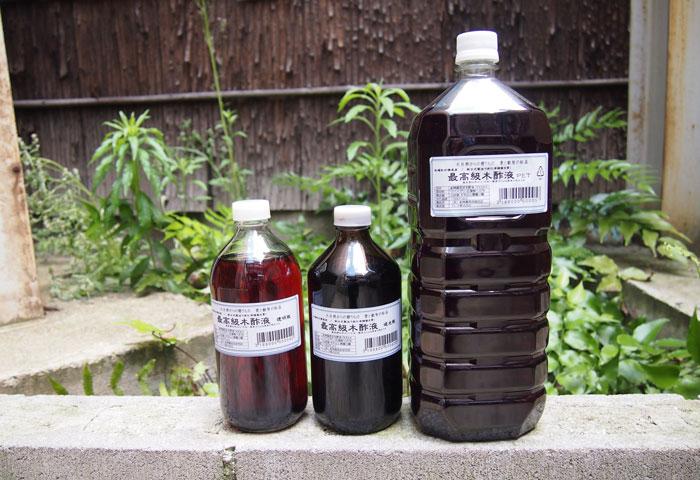 虫除け 木酢 液