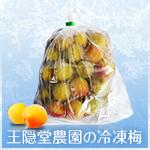 王隠堂農園の冷凍梅(L〜2L)