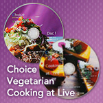 ベジタリアン料理家ericoの「Choice Vegetarian Cooking at Live」