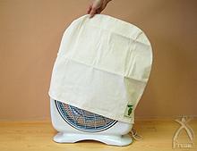 ■特徴3 洗濯の縮みに備えて、やや大きめに作りました