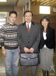 ラクティス:新谷先生と弊社中川・佐々田
