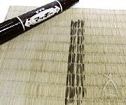 油性マジックで畳にしっかり線を書き