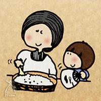 和紡布:昔の母は偉かった