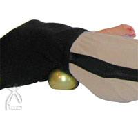 養命球:腰のストレッチ