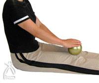 養命球:足のマッサージ