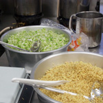 野菜を切るの様子1