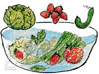 コーラルライフ・サンゴベース:野菜洗いに