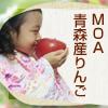 無化学肥料・減農薬の青森産りんご