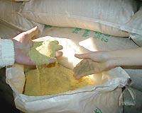 除虫菊の粉末