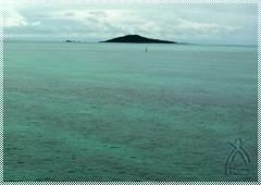 彼方に浮かぶ大神島