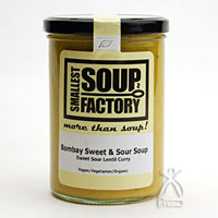 Smallest Soup Factory 09 陽気なインド人も仰天 ボンベイの思い出有機スープ  賞味期限 2018/03/18 まで 400ml